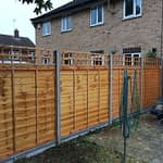 Fencing and Trellis installed in Peterborough