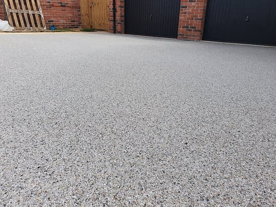New Build Resin Driveway
