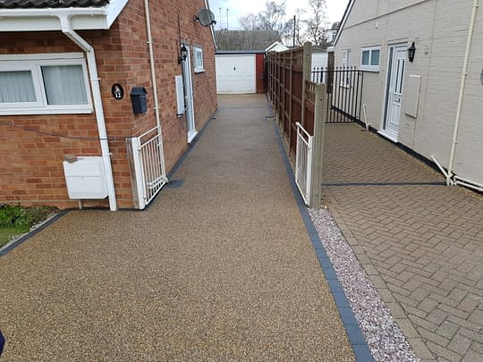 Large Resin Bound Install in Thorney