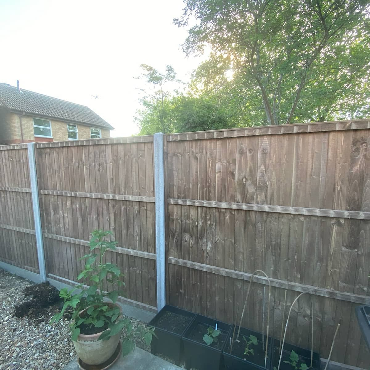 New Featheredge Fencing installed in Werrington