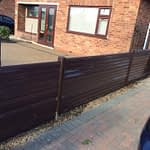 Plastic Fencing installed in Peterborough