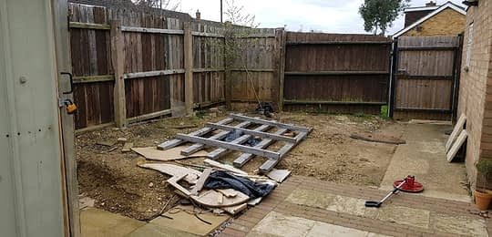Before Garden Makeover