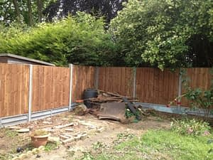 Fence installed in Dogsthorpe Peterborough