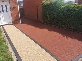 Resin Bound Driveway Installed in Market Deeping