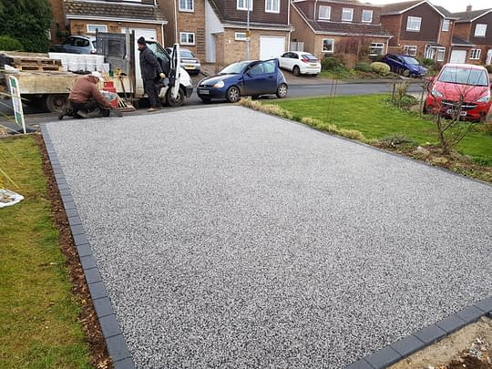 ProResin Alloy driveway install