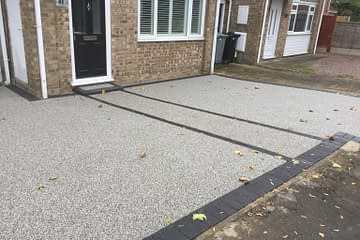 Market Deeping Resin Bound Driveway Install
