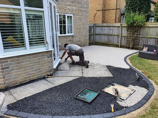 Bitumen for Patio