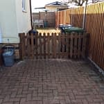New Wooden Driveway Gates Fitted in Eye