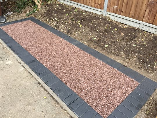 Resin Area for Bins Chatteris