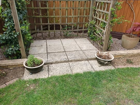 Before Resin Bound Peterborough