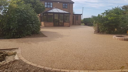 Garden Renovation with Resin Bound