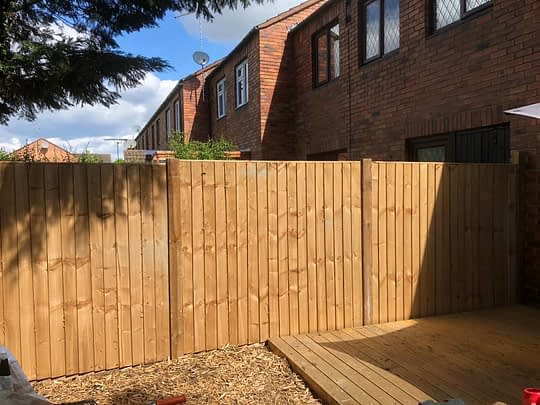 New Fencing in Market Deeping