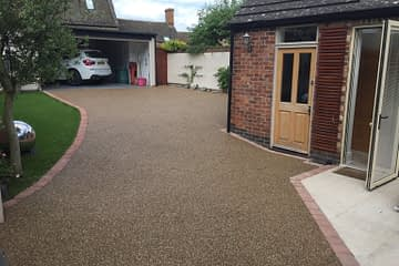 Resin Bound Driveway installed in Uppingham
