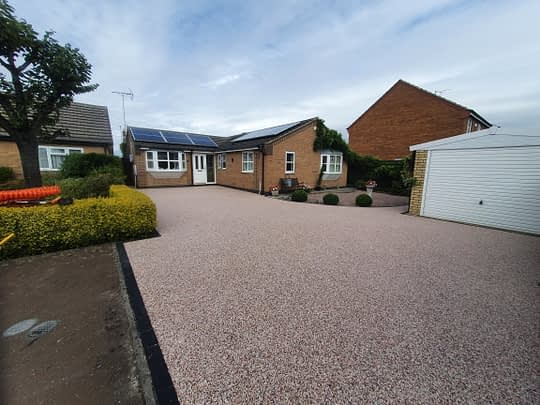 Resin Bound Driveway completed in Newborough