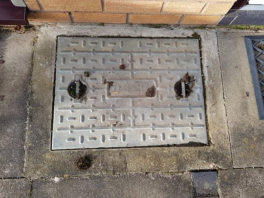 Old Manhole Covers