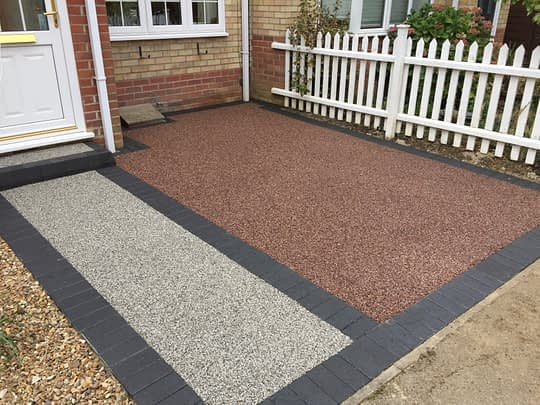 Resin Bound Front in Chatteris