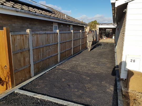 Tarmac Base Installed for Resin Driveway