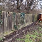 Peterborough Fencing Before