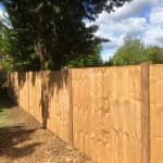 New Fencing Panels in Market Deeping