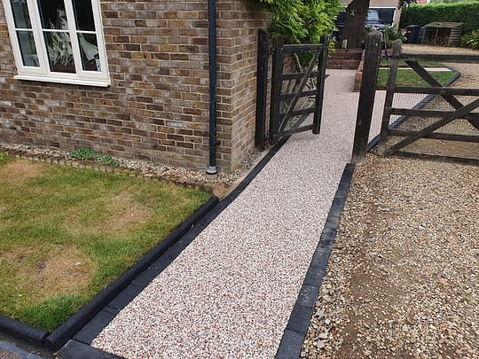 Resin Bound Pathway Constructed in Holme