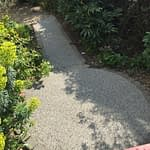 Resin Bound Garden Feature Path