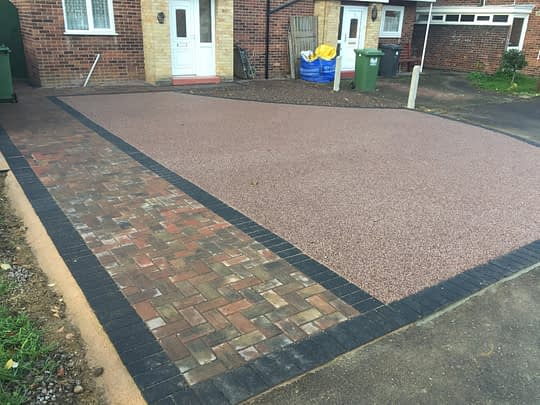 Block Paving and Resin Driveway