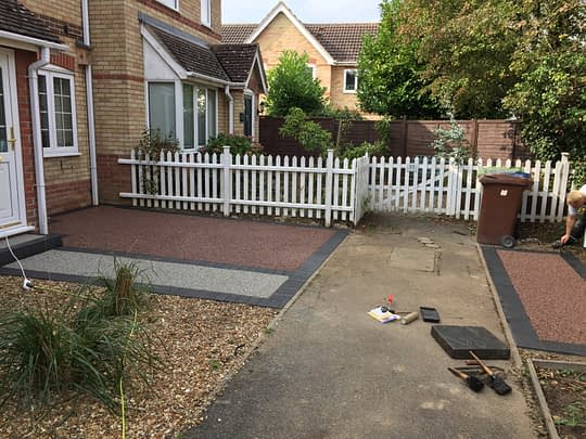 Resin Bound Project in Chatteris