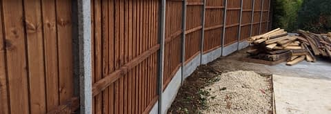 The areas leading quality garden fencing installers
