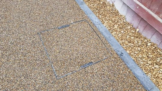Recessed Resin Bound Driveway Installed in March
