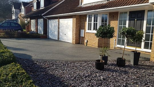 Resin Bound Driveway Install Repair in Orton