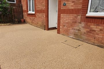 Resin Bound drive installed in Werrington Peterborough