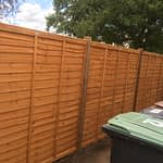 Waney Lap Panel Fencing Peterborough