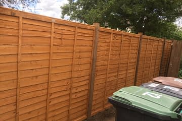 Waney Lap Panel Fencing