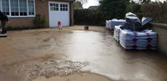 Driveway Primed for Resin