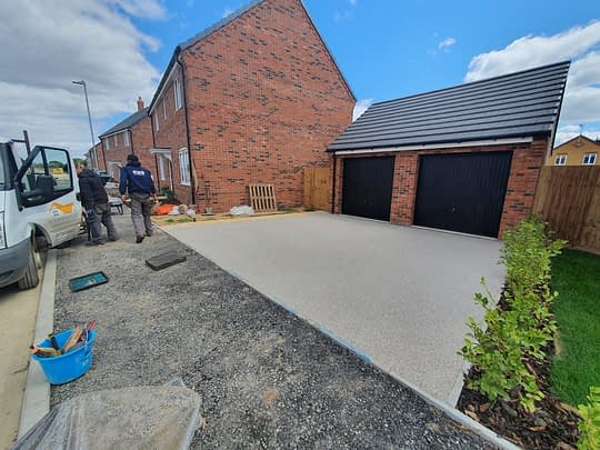 Resn Driveway installed in Crowland