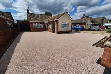 Resin Bound Driveway installed in Gunthorpe