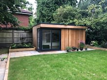 Garden Room Installation in Stanground