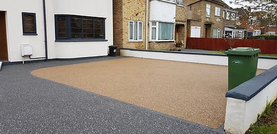 Resin Bound Driveway Install in Dogsthorpe