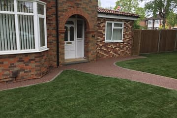 Resin Pathway in Werrington