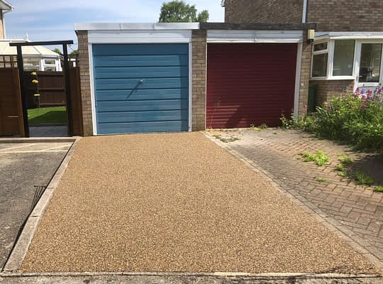 Resin Parking Space in Bretton