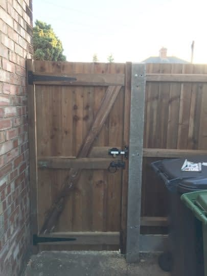 Replacement Gate installed in Peterborough
