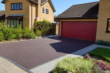 Celtic Plumb Resin Driveway in Peterborough