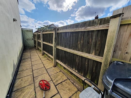 Old Featheredge Fencing in Werrington