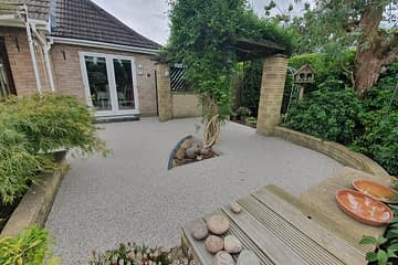 Resin Bound Patio in Wisbech