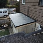 Flat Roof installed in Cowbit
