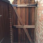 Wooden gate installed in Peterborough