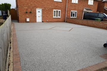 Resin Driveway Whittlesey Daltex Silver
