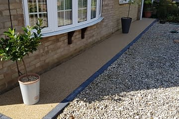 Resin Bound Pathway Gunthorpe Peterborough