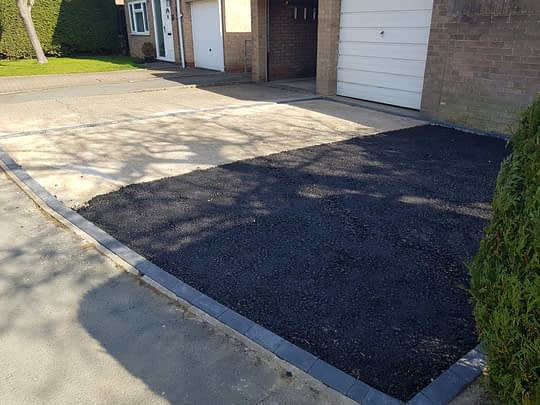 Extended Driveway in Stilton