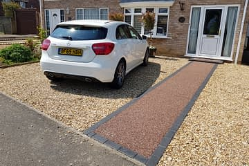 Resin Bound Pathway and Gravel Drive Gunthorpe Peterborough